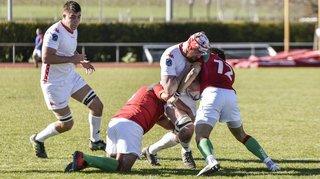 Rugby Europe Trophy: le XV de Suisse croqué par les Loups portugais