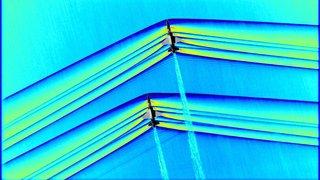 Aéronautique: la NASA diffuse des images inédites de l'onde de choc d'avions qui franchissent le mur du son