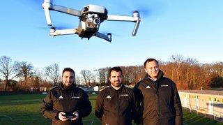 Pour réussir son 2e tour, le FC Echichens compte sur son drone