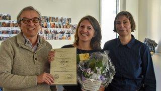 Un prix de journalisme pour notre collègue Laura Lose