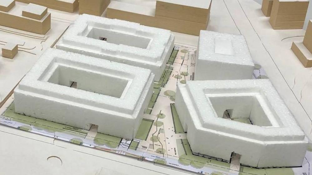 Quatre immeubles vont remplacer les barres de la Suettaz et des Lupins.