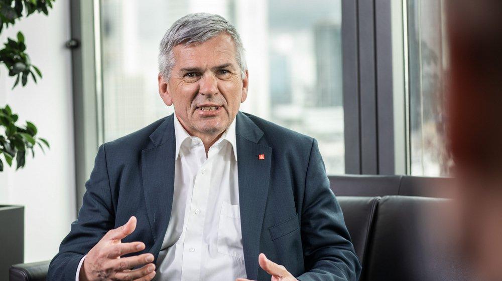 Jörg Hoffmann est à la tête d'IG Metall depuis 2015. C'est la plus importante organisation de ce type en Europe.