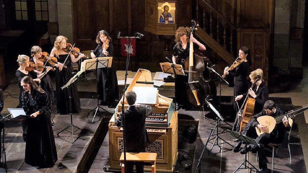 L'ensemble Collegium Musicum Lausanne