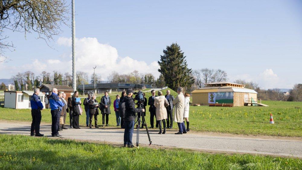 L'audience du Tribunal cantonal a eu lieu mardi matin sur le site du prochain giron de la Fédération des Jeunesses du District de Nyon (FJDN) à Nyon.
