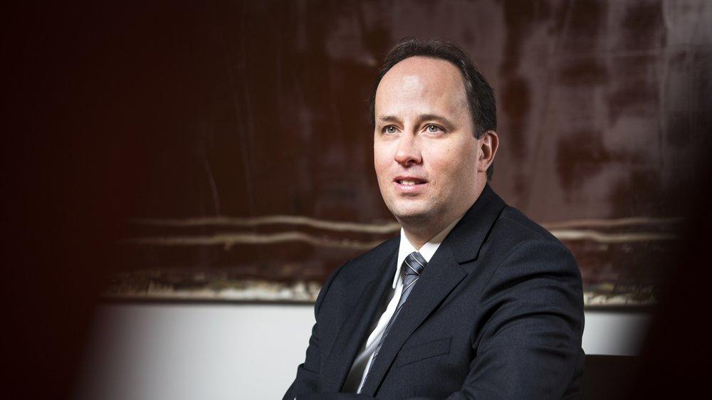 Stéphane Mathey, responsable de la clientèle entreprises, UBS Romandie