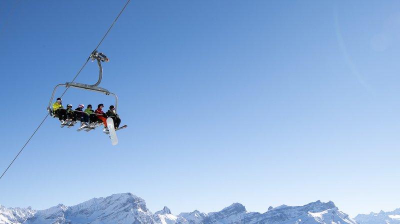 Sports d'hiver: avec une météo favorable, l'hiver a souri aux stations de ski suisses