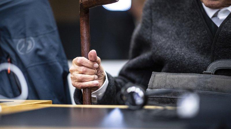 Johann Rehbogen, 95 ans, affirme avoir été enrôlé sous la contrainte.
