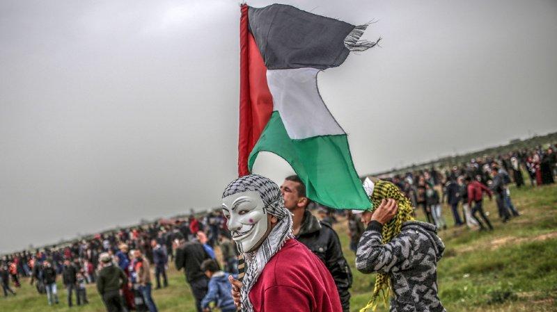 Moyen-Orient: les manifestations massives à la frontière Gaza-Israël font quatre morts