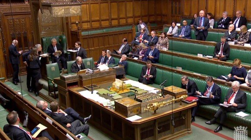Les députés votent sur quatre options sélectionnées par le président de la Chambre des communes John Bercow.