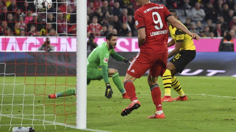 Football: le Bayern Munich fesse le Borussia Dortmund de Lucien Favre