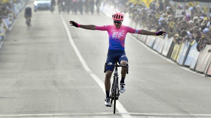 Cyclisme: l'Italien Alberto Bettiol remporte le Tour des Flandres à la surprise générale