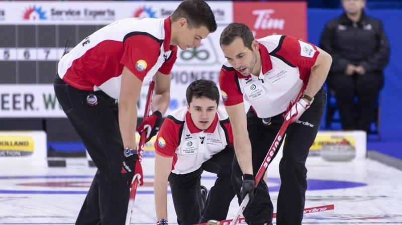 Championnat du monde de curling: les Suisses médaillés de bronze