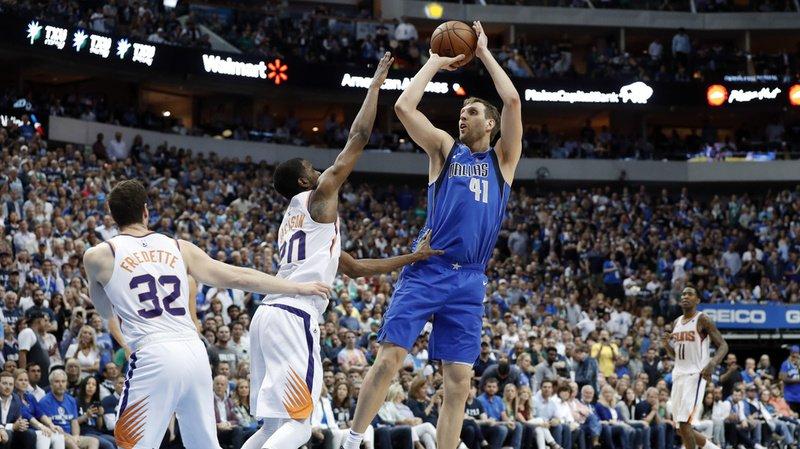 Basketball: l'Allemand Dirk Nowitzki, légende de la NBA, met un terme à sa carrière