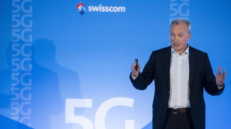 Télécommunications: Swisscom veut couvrir plus de 90% du territoire suisse avec la 5G d'ici fin 2019
