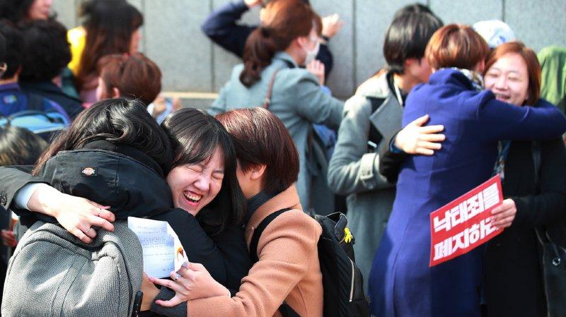 Corée du Sud: l'interdiction de l'avortement jugée anticonstitutionnelle