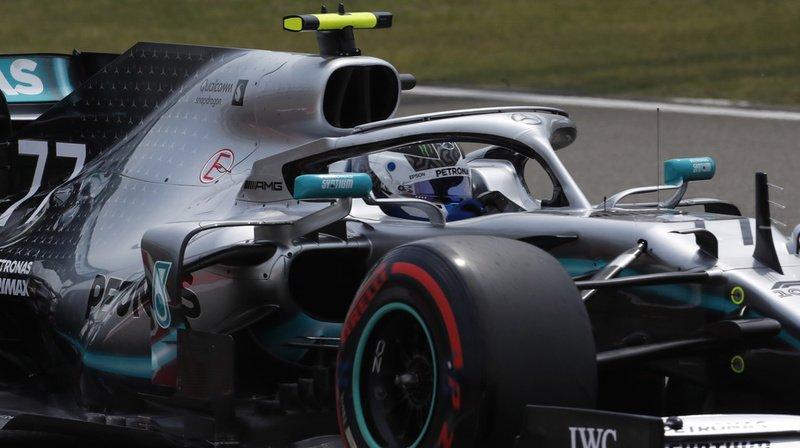Formule 1 – Qualifications: Bottas devant Hamilton pour le GP de Chine