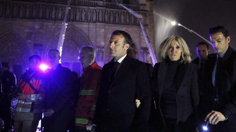 Incendie de Notre-Dame de Paris: Macron veut que la cathédrale soit reconstruite «d'ici cinq années»