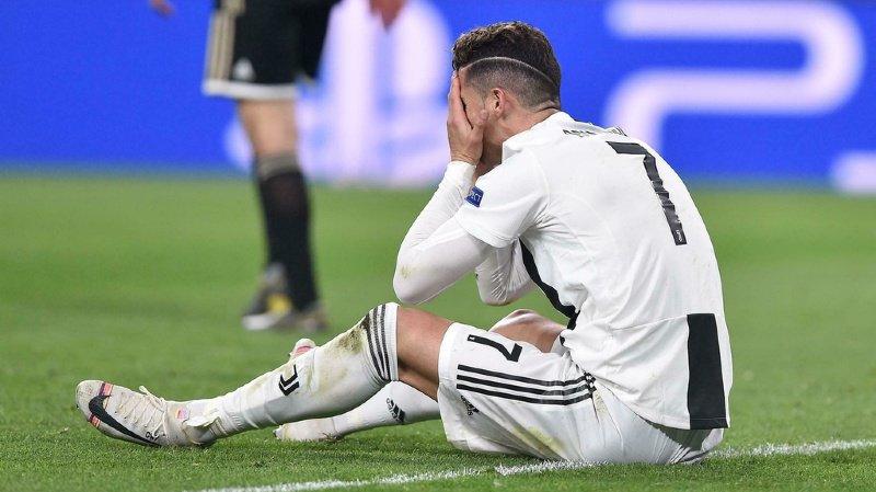 Les rêves de CR7 s'effondrent. L'action de la Juventus à la Bourse suit le même chemin.
