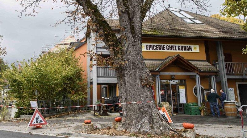 L'épicerie Chez Goran a fermé ses portes