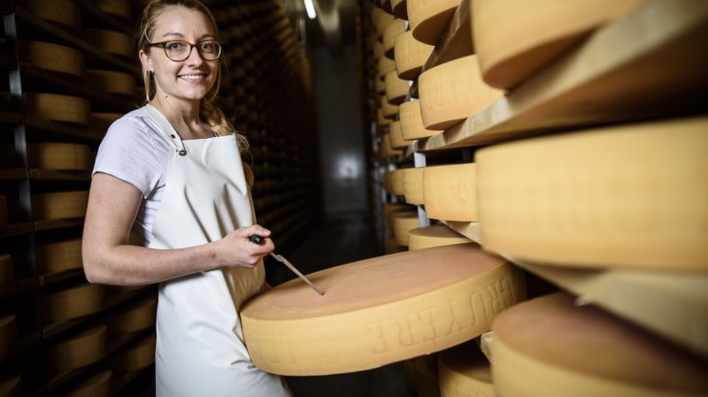 La jeune fromagère de Montricher régate avec les meilleurs