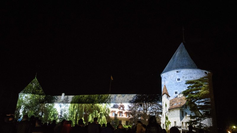 Les murs du château de Rolle transfigurés par un spectacle grandiose