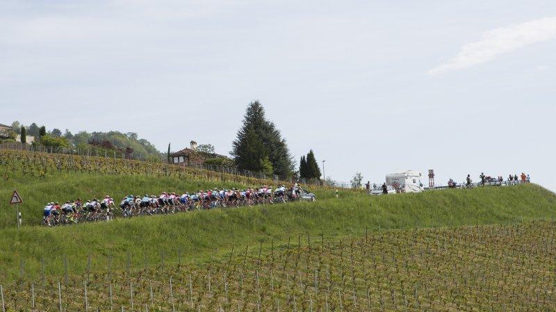 L'an dernier, le Tour de Romandie avait fait halte à Mont-sur-Rolle.