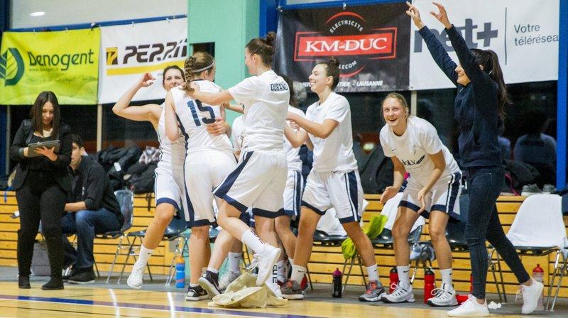 Le Nyon Basket Féminin n'a fait qu'une bouchée de Lausanne-Prilly