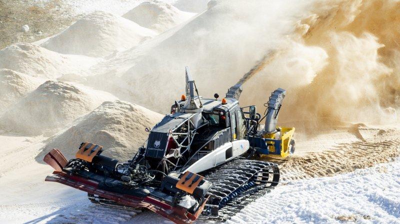 Pionnier du «snowfarming», le centre des Tuffes a déjà sa neige pour les JOJ 2020