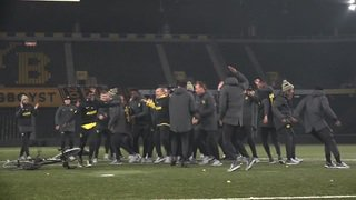 Les Young Boys célébrés au Stade de Suisse