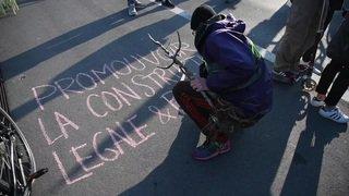 Lausanne: ils bloquent le pont Chauderon pour défendre le climat