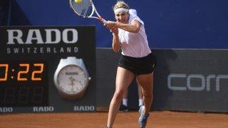 Tennis - WTA de Lugano: Timea Bacsinszky battue à Lugano