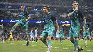 Football - Ligue des champions: au terme d'un match fou, Tottenham élimine Manchester City, Liverpool vainqueur à Porto