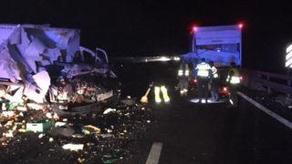 Accidents en série sur l'autoroute