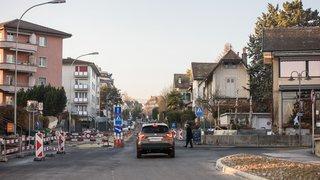 Morges: fermeture de l'avenue de Marcelin en raison de travaux