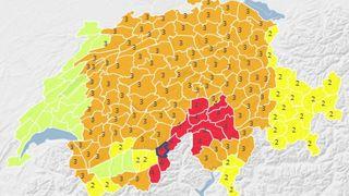 Météo Suisse lance une alerte aux fortes chutes de neige sur plusieurs régions dès ce mercredi soir
