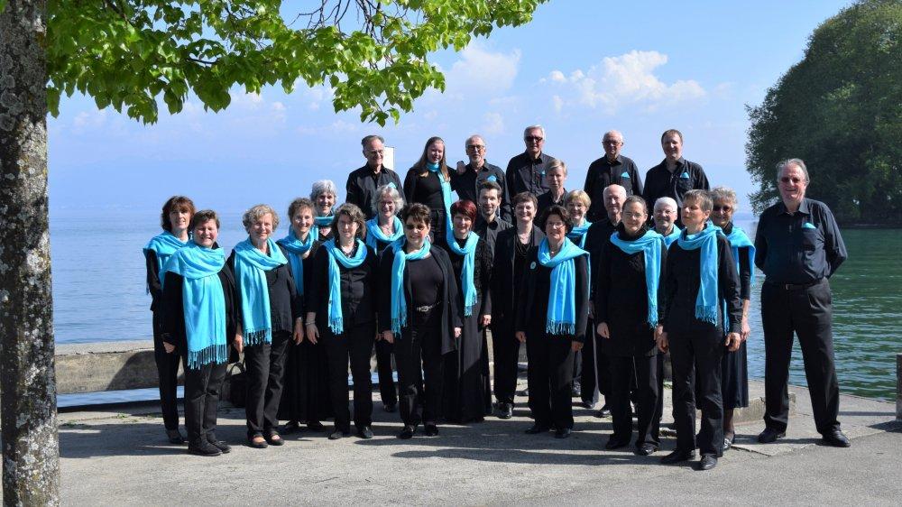 """Le chœur """"Arpège"""" de Trélex donnera son concert sous la direction de Christine Mayencourt."""