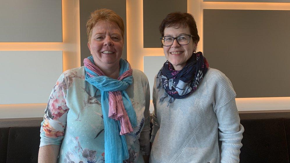 Florence Malloth et Isabelle Pino sont très actives au sein du groupe régional de Nyon SEPasMal.