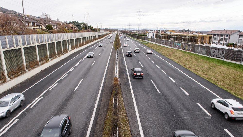 L'accident a eu lieu le 26 novembre au petit matin sur la bande d'arrêt d'urgence côté Jura.