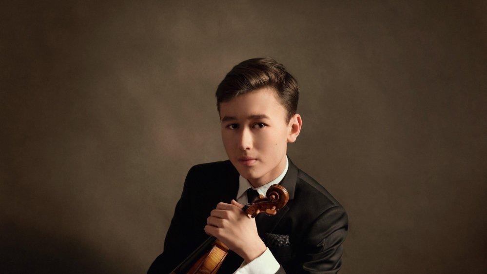 Le jeune prodige Daniel Lozakovich se produira pour un concert exceptionnel au Victoria Hall ce dimanche.