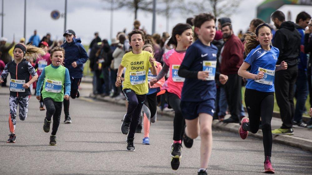 Les plus jeunes étaient également à l'honneur dimanche avec des courses d'un ou deux kilomètres.