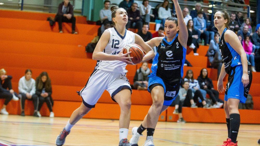 En janvier dernier, Jenna Müllauer et les Nyonnaises se frottaient à Aarau. Elles pourraient rencontrer ces mêmes argoviennes en finale dans une semaine.