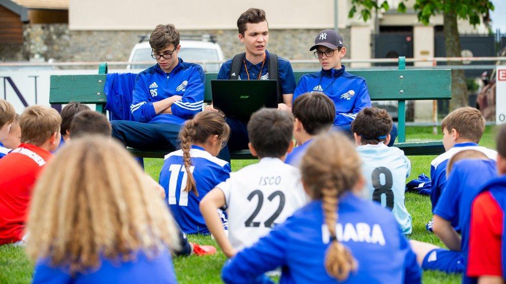 Pas moins de 57 enfants se sont inscrits cette année au camp organisé par Nicolas Lebaz.