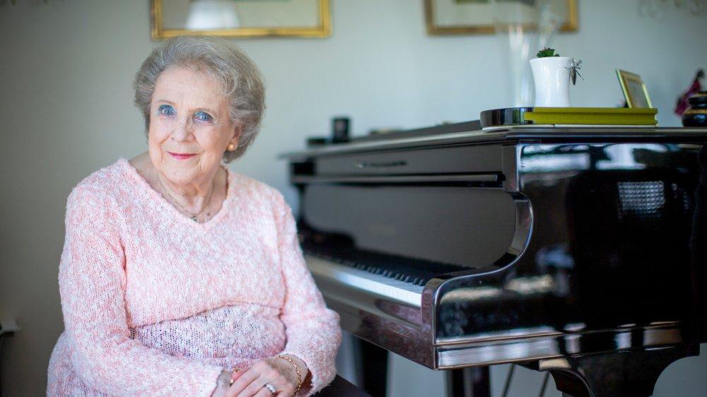 Marie-José d'Alboni dirige le Conservatoire de Terre-Sainte et Environs, que sa mère a fondé, depuis 25 ans.