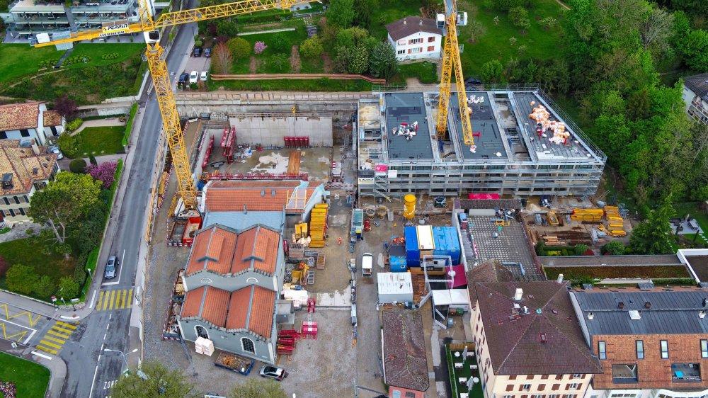 Le chantier devrait être terminé fin 2020.