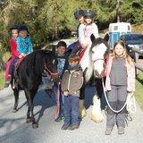 Promenade à dos de poney