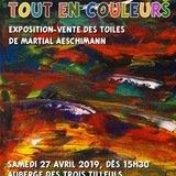 Exposition «tout en couleur» Martial Aeschimann