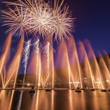 Spectacles d'eau et de feu: Fête Nationale Suisse