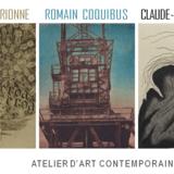 Trio d'artistes pour la fête de l'Estampe