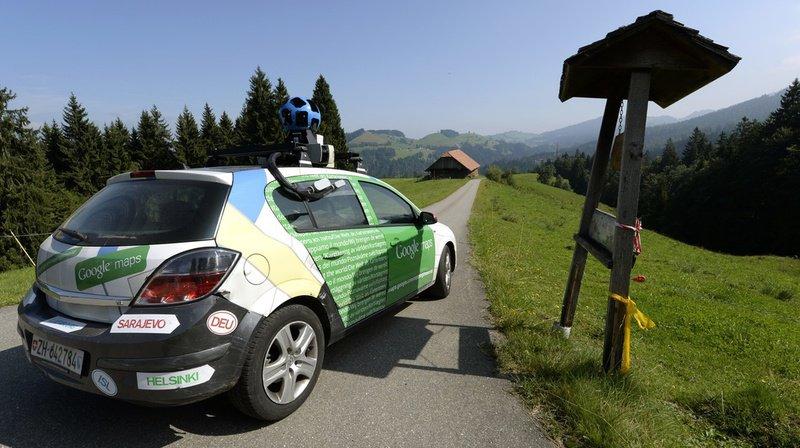 Souriez, car les véhicules de Google vont vous photographier.