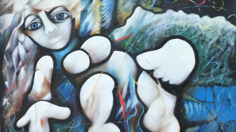 Exposition de peintures de Richard Appréderis